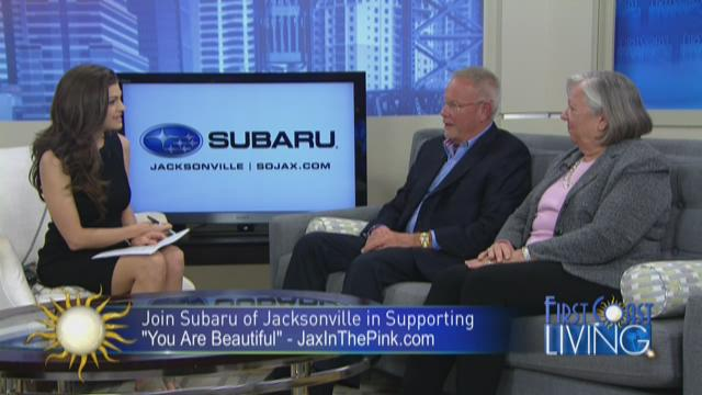 Subaru of Jacksonville has partnered with First Coast News to support 'In the Pink Boutique' through our %23YouAreBeautiful campaign