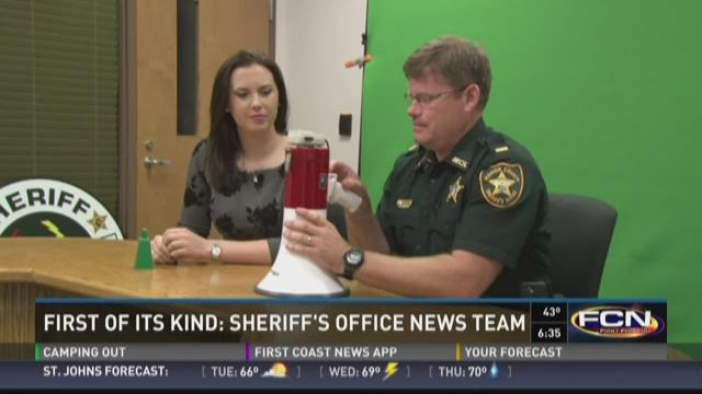 """""""Man Cave Friday"""" segments at the Marion County Sheriff's Office."""