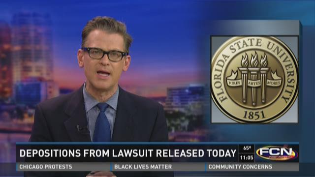 Depositions from FSU lawsuit released Wednesday
